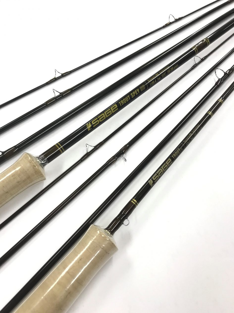 SAGE NEW RODS